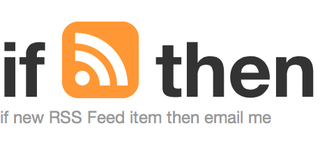 ifttt rss feed to email
